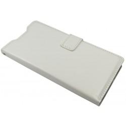 Etui Flip Cover Sony M5 biały